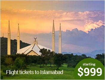 Flights to islamabad