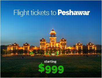 Flights to Pesawar